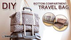 How to Make Large Suitcase Handbag Step by Step DIY Large Travel Bag sew bags Bag Sewing, Bag Essentials, Sac Week End, Large Suitcase, Bag Patterns To Sew, Party Bags, Travel Bags, Travel Packing, Diy Travel Purse