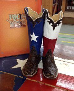 Rios of Mercedes Texas Cowboy Boots