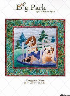 Dog Park - Doggone Dizzy - Pattern by McKenna Ryan