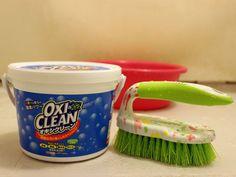 コストコやインターネット通販で買える、酸素系漂白剤「オキシクリーン」。今回は効果の高さが話題となっている、お風呂場の床、換気扇のフィルター、洗濯槽で掃除を実施。使用法と驚くべき効果を、写真と共にお伝えします。
