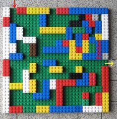 Création de labyrinthes en maternelle