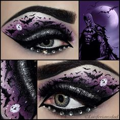 batman-makeup... and riddler, batgirl... many others that look EPIC-LY AWESOME!