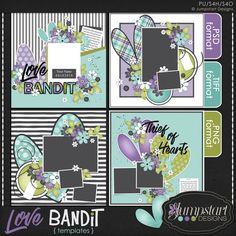 Template Love Bandit by Jumpstart Designs  https://pickleberrypop.com/shop/manufacturers.php?manufacturerid=102