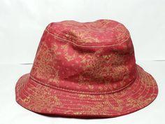 TRUE RELIGION bucket hat red with gold pattern Size L/XL #Trueregligion visit our ebay store at  http://stores.ebay.com/esquirestore