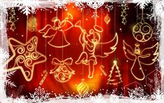 """This post contains some of the best collection of """"Christmas Wallpaper HD Desktop"""". Wish you all going to like these all quotes, pictures, images for Merry Christmas celebrations. Funny Christmas Wallpaper, Christmas Desktop, Merry Christmas Baby, Holiday Wallpaper, Christmas Greeting Cards, Christmas Colors, Christmas Angels, Christmas Greetings, Christmas Themes"""