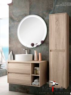 Suspended bathroom cabinet terra cm 2 drawers and two shelves Bathroom Wall Decor, Bathroom Furniture, Small Bathroom, Master Bathroom, Modern Bathrooms Interior, Modern Bathroom Design, Bathroom Interior Design, Bath Cabinets, Upstairs Bathrooms