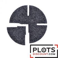 Cale amortisseur gomme contact en pneu recyclé Jouplast - 100 pièces
