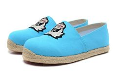 Cheap Christian Louboutin Women Sneakers Outlet CL Shoes online Store Free Shipping 2013 Fashion New Arrive Cheap Flats Red Bottoms Shoe Outlet Blue Hemp Bottom Male 39-46 Female 35-41