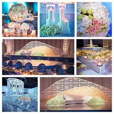 Royal Arabesque Wedding- Dubai. Under the glare of the Moroccan sun and at the mercy of orange sands, we found refuge and peace in the purity of white. The total absence of color created a substance of dreams in this Royal Arabesque wedding. Strongly inspired by the Royal Mansour Spa in Marrakech, the water fountains and Islamic patterns emphasized a pure and therapeutic atmosphere.