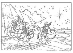 The 3rd Glorious Mystery Coloring Page