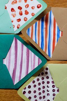DIY Envelope Liners - 52 Weeks Project