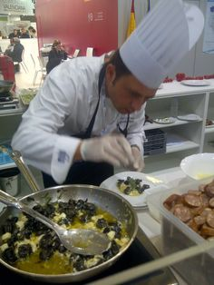 Snails dish at Sial 2012