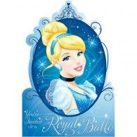 Cinderella Invitations Pkt8 $7.95 A499664