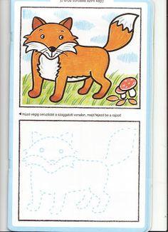 Mókapolc: Rajztanfolyam 3.- erdei állatok