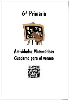 Cuaderno de Verano de Matemáticas de 6º de Primaria (Colegio José Calderón, Málaga)