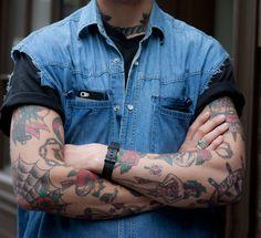 10 idées de tatouage sur les bras - Comme un camion : Blog mode homme, magazine homme et site masculin