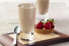 For a nutritious breakfast, a quick, rich treat or post-workout snack, this vegan chocolate peanut butter banana smoothie recipe is a delicious shake that comes together in just minutes. Breakfast Smoothie Recipes, Best Smoothie Recipes, Shake Recipes, Healthy Smoothies, Healthy Drinks, Healthy Foods, Healthy Heart, Green Smoothies, Protein Foods