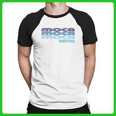 Teeburon Retro Color Moca Raglan T-Shirt - Retro shirts (*Amazon Partner-Link)