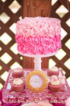 Ready to POP Baby Couture Baby Shower I will be attempting this cake design soon! Wish me luck! :-)