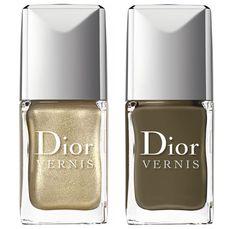 Vernis Dior Golden Jungle http://www.vogue.fr/beaute/en-vue/diaporama/make-up-reptile/9289/image/563879