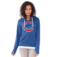 Get this Chicago Cubs Ladies All Star Full-Zip Hooded Sweatshirt at WrigleyvilleSports.com