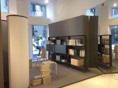 A new shop window @ Alias SHOP (Corso Monforte 19, #Milano)  #design #interiordesign #chairs #tables #bookshelf