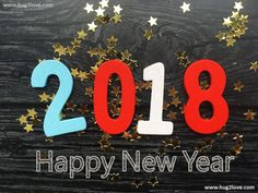 Black Best Happy New Year Images 2018