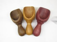 Wood Scoop: Hand Turned Wooden Scoop by TakingTurns on Etsy
