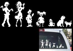 Funny Stick Figure Family ZOMBIES Decal by FamilyGraphix.com, http://www.amazon.com/dp/B007L4VMI2/ref=cm_sw_r_pi_dp_FsOWrb00BENVN