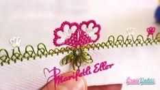 İğne Oyası İkiz Çiçek Modeli Yapımı Anlatımlı Türkçe Videolu #elişi #örgü #moda