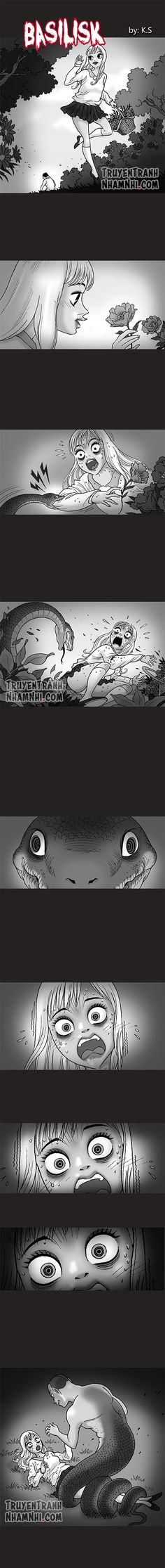 Silent Horror chap 177: Basilisk (Đứa con của rắn)