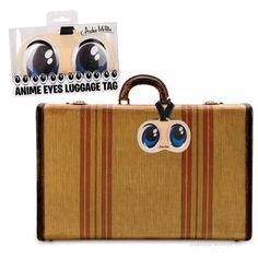 Anime Eyes Luggage Tag