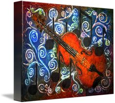 Shop for fiddle art from the world's greatest living artists. All fiddle artwork ships within 48 hours and includes a money-back guarantee. Choose your favorite fiddle designs and purchase them as wall art, home decor, phone cases, tote bags, and more! Framed Art Prints, Fine Art Prints, Canvas Prints, Violin Art, Violin Music, Batik Art, Art Music, Fine Art America, Artwork
