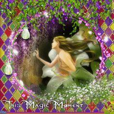 This Magic Moment ... Flower Fairy Blingee by stina scott