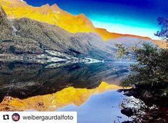 Sunnmørsalper. #reiseblogger #reiseliv #reisetips #reiseråd  #Repost @weibergaurdalfoto (@get_repost)  Sunnmørsalper i høstfargerNorway
