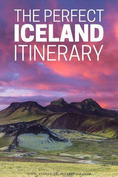 The perfect Iceland itinerary. 10 days or 5 days in Iceland - this comprehensive Iceland travel guide has you covered. Unique options & alternatives for your perfect trip to Iceland. click for more information.