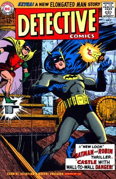 Detective Comics #329 - The Castle with Wall-to-Wall Danger, 1964