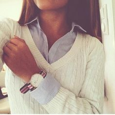 Image via We Heart It https://weheartit.com/entry/143951710 #fashion #girl #outfit #style #watch