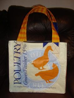 Feed Sack Bag... have made several of these .. sturdy