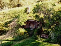 Ordinaire Hobbit Home Built Into A Hillside
