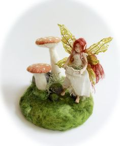 Arya the Woodland Fairy  Waldorf Inspired Art by Phoebecapelle,