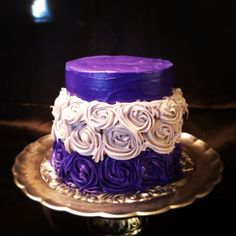 Birthday cake by Aurelia Constante from PattiesCakes.weebly.com