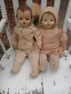Baby Dolls, Antique
