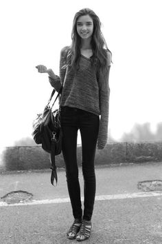 Thigh gaps are everything