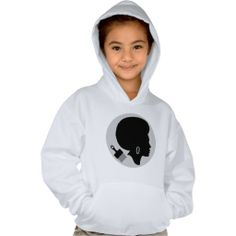 AFRO WOMAN (BLACK POWER) Hanes ComfortBlend® Hood T-shirts $35.95 #afro #black #africanamerican #african #hoodie #forkids #gayriot