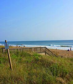 Excellent morning at the beach in Kill Devil Hills, North Carolina. #iloveobx