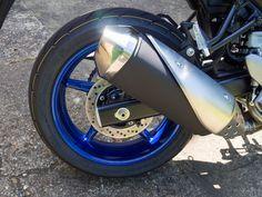 Suzuki SV650 Blue Wheels