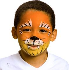 Our Snazaroo Tiger face painting will be the perfect contribution. Lion Face Paint, Tiger Face Paints, Face Painting For Boys, Face Painting Designs, Lion Makeup, Tiger Images, Fantasy Make Up, Pet Tiger, Boy Face