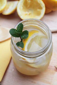 #Recette #cocktail de #limonade pétillante au #bourbon.