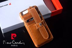 Pierre Cardin Leather Credit Card Wallet  iPhone case